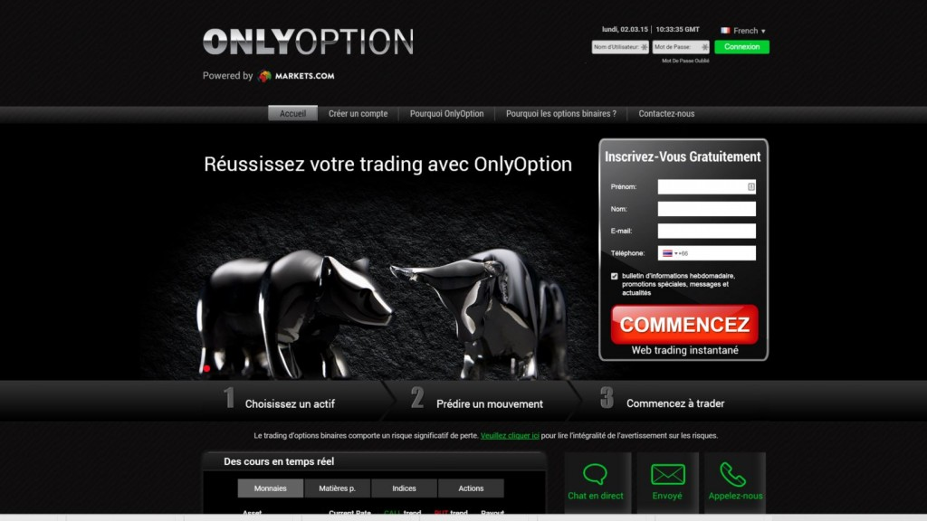 Onlyoption-plateforme